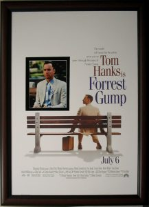 Forrest Gump Movie Poster CSD Framing carrollton tx