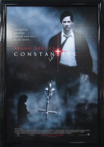 constantine movie poster csd framing carrollton tx