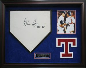 baseball plate shadow box