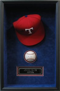 baseball hat display case csd framing