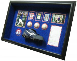 cleats shadow box