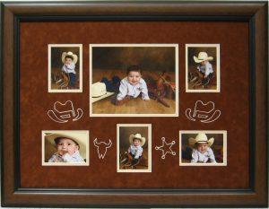 baby photo collage csd framing carrollton tx