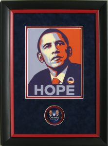 obama hope photo csd framing carrollton tx