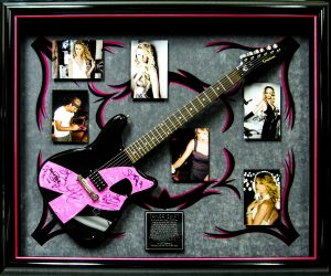 taylor swift guitar shadow box