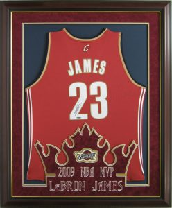timeless design bb5f6 7f242 Time to Preserve Your LeBron James Memorabilia | CSD Framing